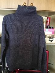 guにて購入ネイビーハイネックセーターサイズL