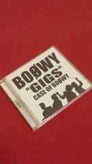 """【即決】BOOWY「""""GIGS""""CASE OF BOOWY」(ライブアルバム)CD2枚組"""