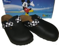ビルケンシュトック ビルキー ミッキーマウス ディズニー黒36