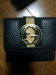 GUCCI  財布  ブラック