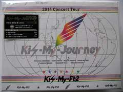 新品Kis-My-Ft2初回限定3枚組DVD2014ConcertTour Kis-My-Journey