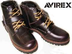 AVIREXアビレックス エンジニア ブーツTIGERバイカー2931茶us9.5