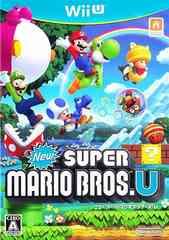 WiiU#NewスーパーマリオブラザーズU 新品