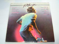 フットルースオリジナルサウンドトラックLPレコードUK輸入盤中古