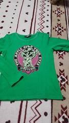 ヒスミニトップス緑