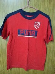 プーマ♪半袖Tシャツ♪赤160�a♪PUMA
