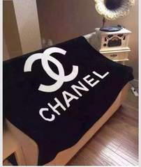 CHANELノベルティ毛布 新品CHANEL保存袋付き