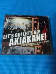 秋茜 500枚限定CD+DVD「LET'S GO!AKIAKANE!」SOFTBALL PUNK パンク