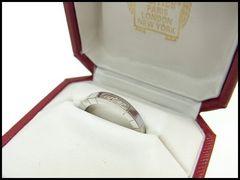 Cartier �J���e�B�G ���j�G�[�� �����O �w�� k18 750 ��52