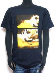 新品正規NIXONニクソンサーフプリントTシャツブラック