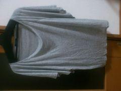 ルシェルブルー新品未使用 ★グレー背中開きTシャツ スタニングルアー 梨花ヨンア