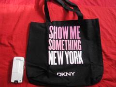 限定DKNY ダナキャランニューヨーク ラメトートバック 未使用
