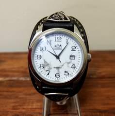 サードSAAD レザーウォッチ ハウライト/時計