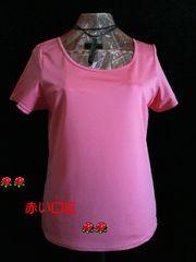 5Lサイズ〜*汗ジミ気にならないTシャツ・インナー(脇消臭機能)ピンク
