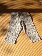 UNIQLO ユニクロ 女の子用 スパッツ サイズ S 身長110〜125
