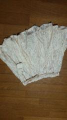 新品♪タグ付き6195円MIIA 薄ベージュキュロットスカート♪記載サイズF