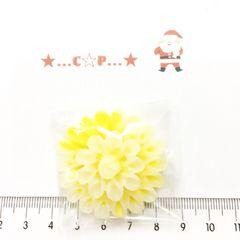 8*�@スタ*オリジナル貼付パーツ*グラデ綺麗お花*黄色*101