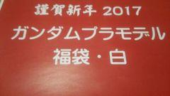 2017福袋 ガンダムプラモデル・白