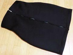 新品リゼクシー/RESEXYストレッチハイウエストスカート黒