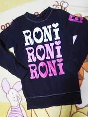 #RONI#デカロゴ トレーナーML バクプリソデプリ   ロニィ アース  ワケアリ