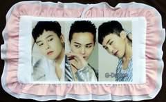 G-DRAGON(BIGBANG)ビッグバン韓国製フリフリ枕(マクラ)141/グッズ
