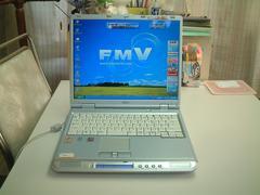 すぐ使える XP DVDマルチ 15型液晶 768M FMV-NB50G