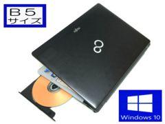 【W10/Ci5-3.2G】DVD焼/メモリ4G【B5耐水】iPhoneテザリング/フォトショップ
