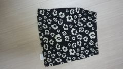 新品LIPSERVICE花柄っぽいスカ-ト黒×アイボリ-