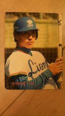 1986 清原和博 カルビーカード
