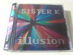 SISTER K CD「illusion」(小室哲哉曲カバー)廃盤●