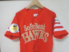 赤金L美品■福岡ソフトバンクホークス応援ユニフォーム/鷹の祭典