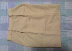 ボックススカート 綺麗なイエロー W72(71〜73)