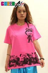 CHEER【チアー】BEARプリントBIG Tシャツ (新品) 【送料無料】
