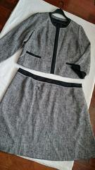 *フォーマル/式などに*スカートスーツ*25ABR大きいサイズ