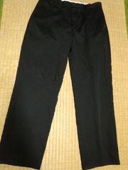 ドッカーズD3 上質黒パンツ 34 Levi's系