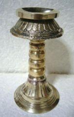 ☆即決☆真鍮製 燭台・オイルランプ 13センチ
