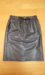 UNTITLED♪スカート2♪黒♪合皮