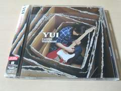YUI CD「I LOVED YESTERDAY」初回盤DVD付●
