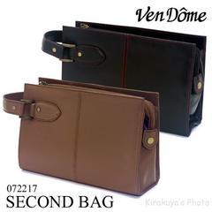 VenDome/フェイクレザーセカンドバッグ 072217ブラウン