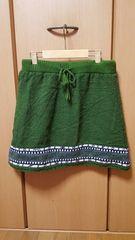チチカカ♪美品♪暖か♪毛100%♪スカート♪楽チン♪ワンピ