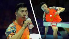 卓球ユニフォーム オリンピック金メダリスト馬龍使用モデル XL