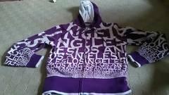 紫パーカー Lサイズ