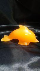 幸せいっぱい★BIGなイルカ★オレンジカルサイト