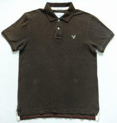 ☆アメリカンイーグル AMERICAN EAGLE 鹿の子 ポロシャツ Msize