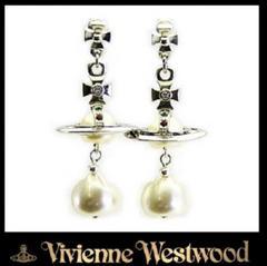 Vivienne Westwood ヴィヴィアン パールドロップオーブピアスC91