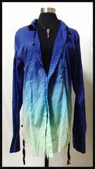 KMRii 15SS SPLASH STANDING グラデーションシャツ メンズ2 新品