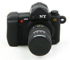 ★一眼レフカメラ風 USBメモリー 大容量の8G プレゼントにも最適