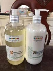Nature's Baby Organics,シャンプー&デタングラーセット!