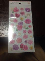 花のシール