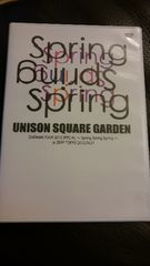 "UNISON SQUARE GARDEN�u""Spring Spring Sprfng""�vDVD"